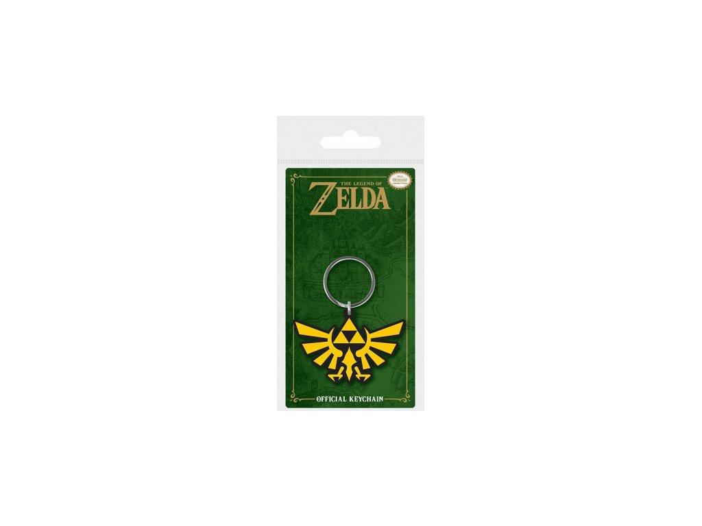 Legend of Zelda - klíčenka - Triforce