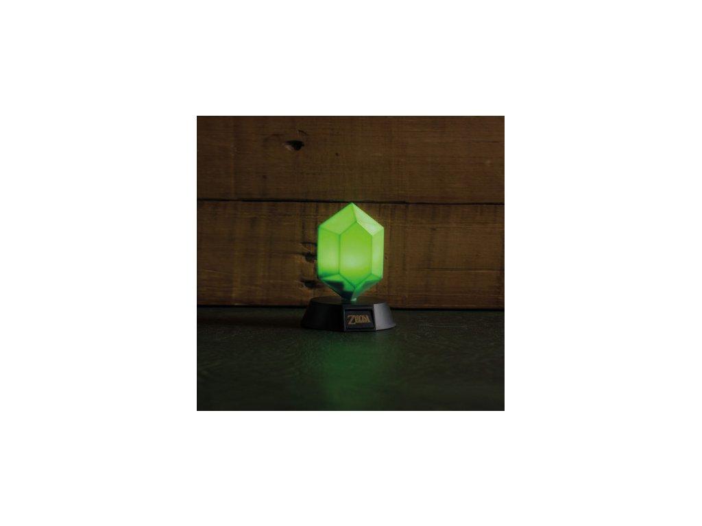 Legend of Zelda lampičky - Rupee - 10 cm