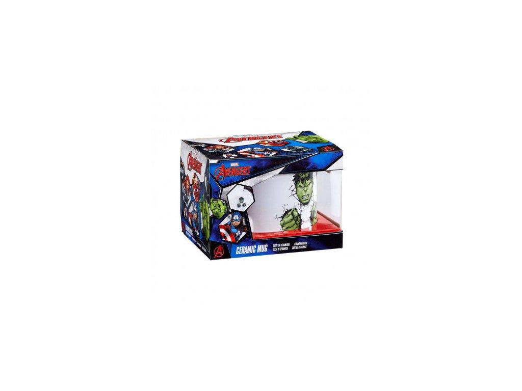 Avengers Hrnek - Bursting Hulk - extra velký