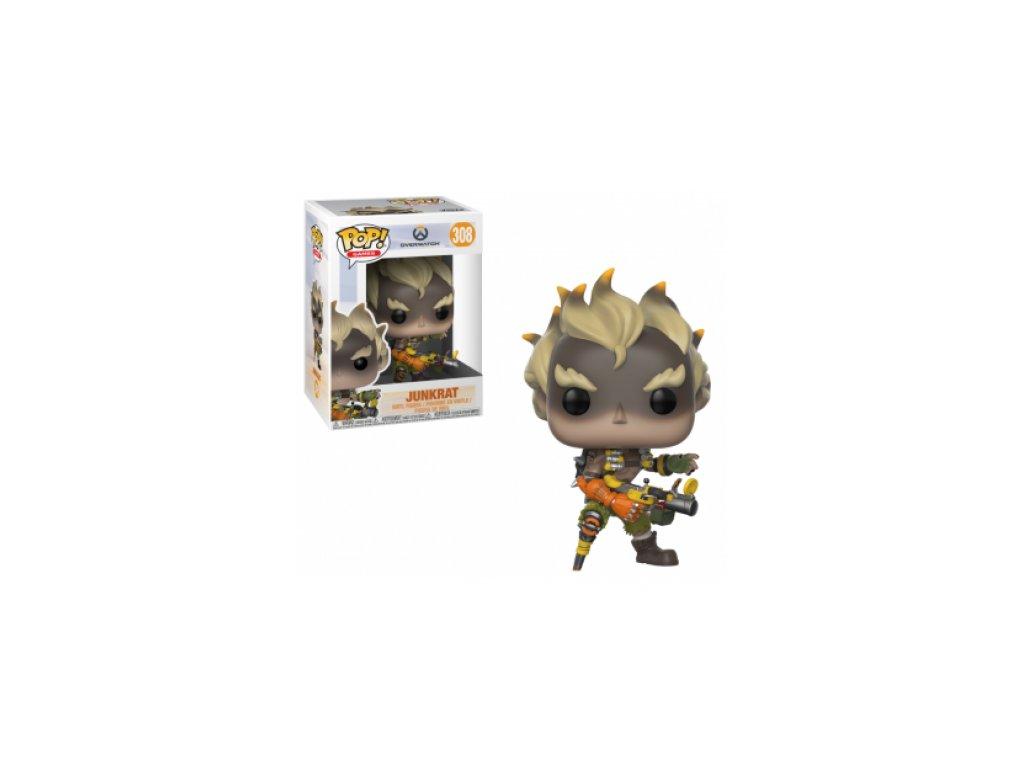 Overwatch Funko POP figurka - Junkrat S3