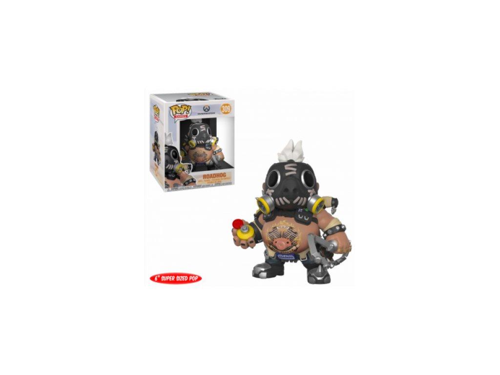 Overwatch Funko POP figurka - Roadhog S3 - velká