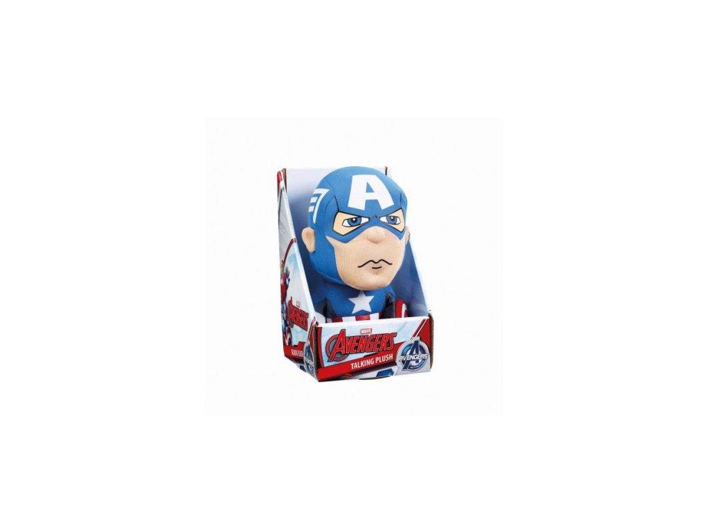 Avengers plyšák - Captain America v2 - mluvící , 23cm