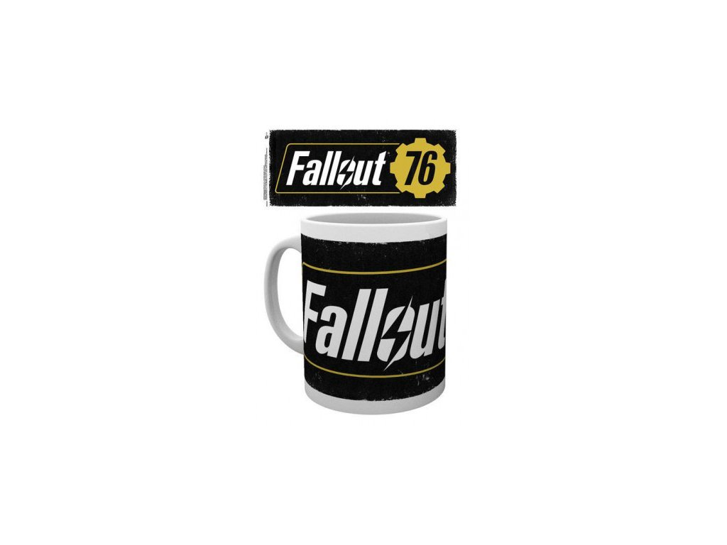 Fallout hrnek - 76 Logo