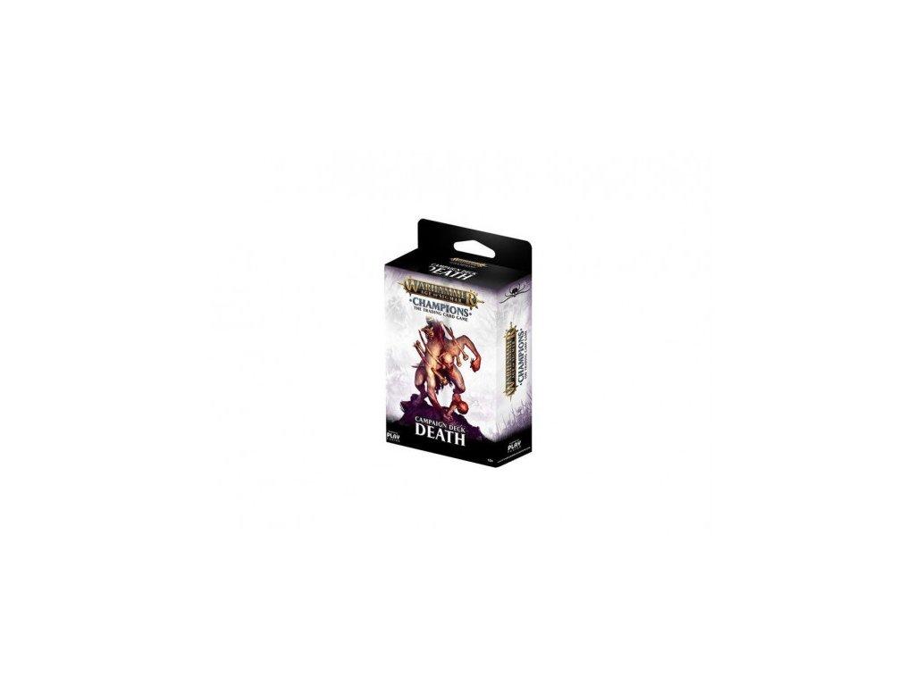 Warhammer Age of Sigmar: Campaign Deck (Death)
