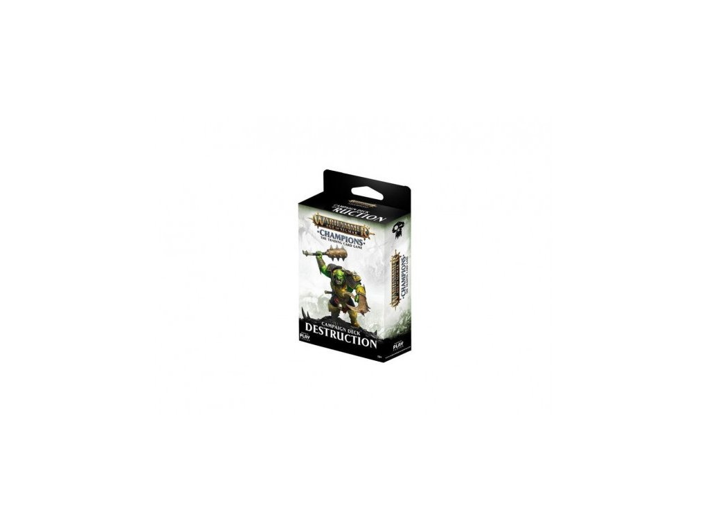 Warhammer Age of Sigmar: Campaign Deck (Destruction)