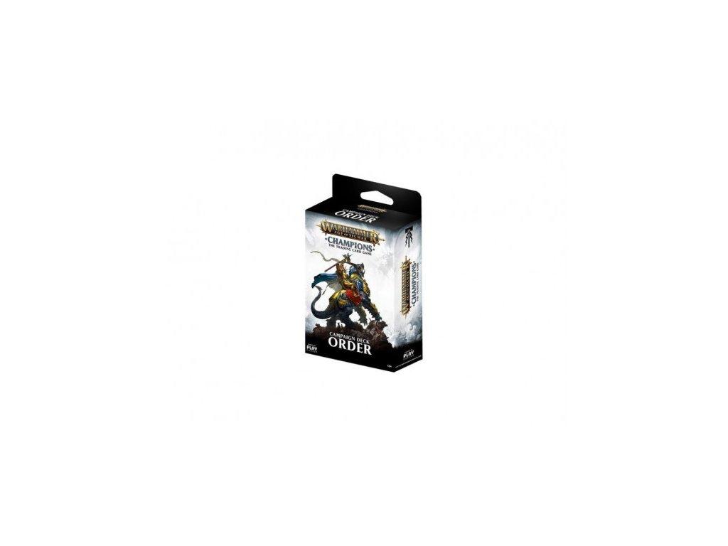 Warhammer Age of Sigmar: Campaign Deck (Order)