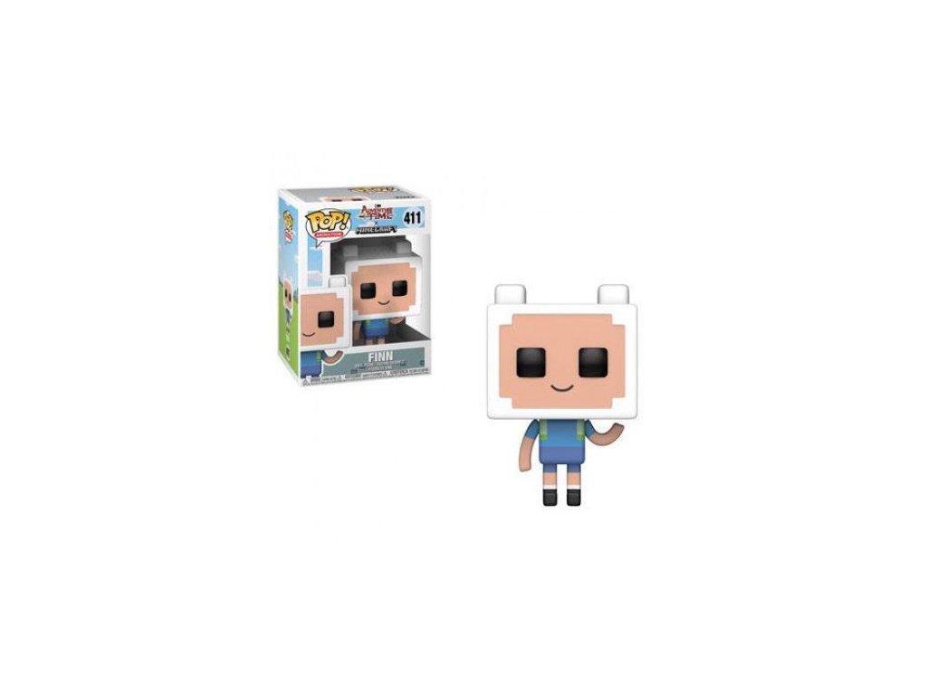 Adventure Time/Minecraft figurka - Finn