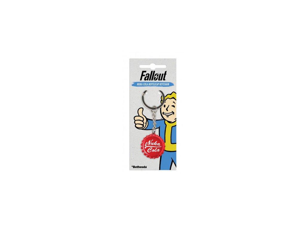Fallout - klíčenka - Nuka Cola Bottlecap
