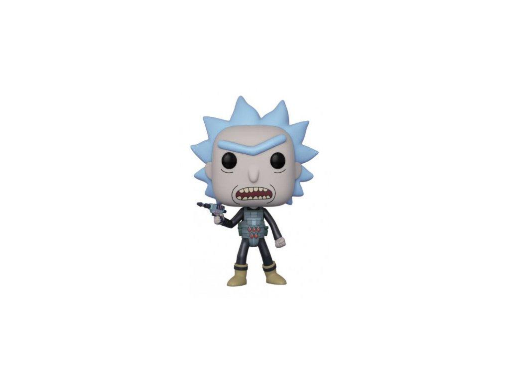 Rick a Morty Funko figurka - Prison Escape Rick