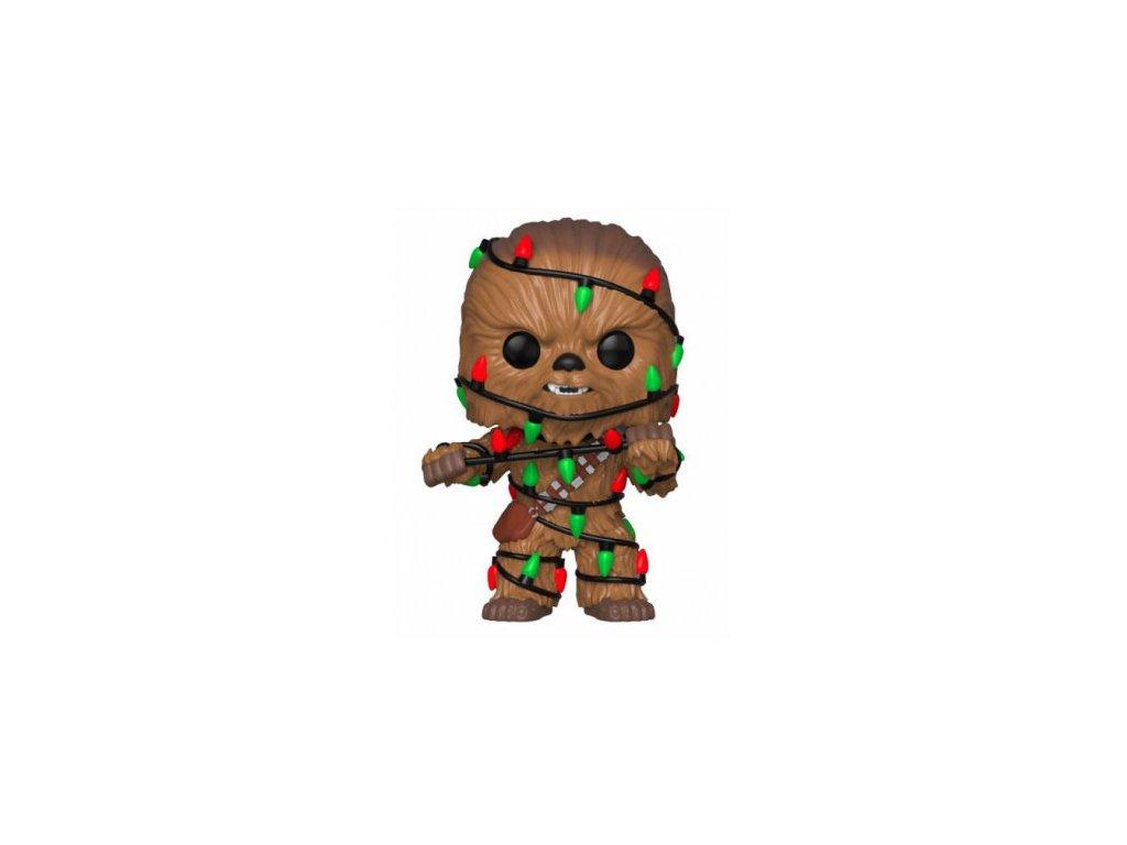 Star Wars Funko figurka - Holiday Chewbacca - Bobble-Head