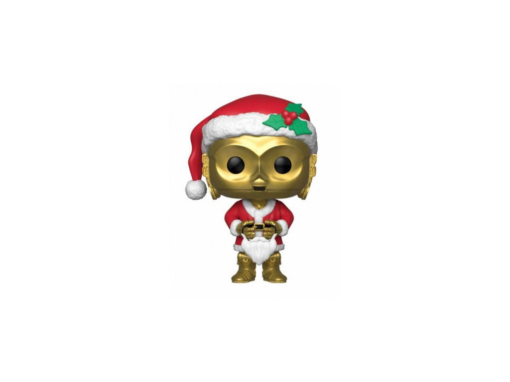 Star Wars Funko figurka - Holiday C-3PO - Bobble-Head
