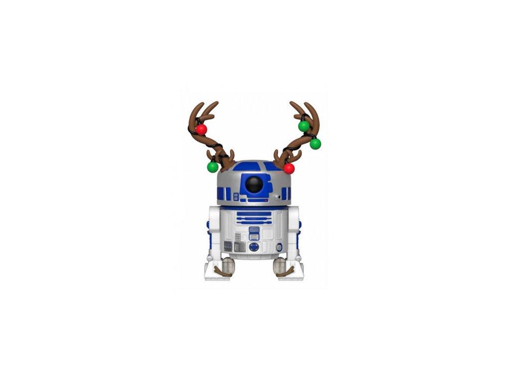 Star Wars Funko figurka - Holiday R2-D2 - Bobble-Head