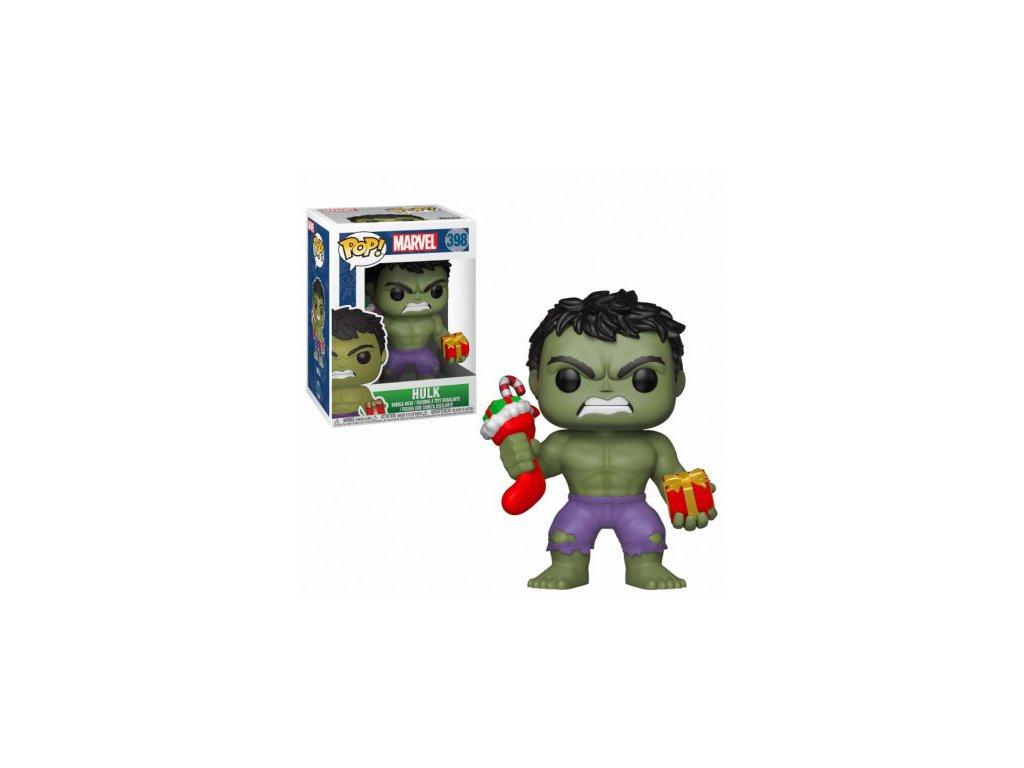 Marvel Funko figurka - Holiday Hulk - bobble-head
