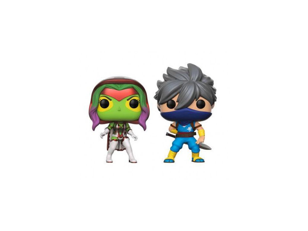 Marvel vs. Capcom Funko figurka - Gamora vs. Strider