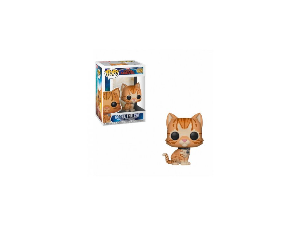 Captain Marvel Funko figurka - Goose the Cat - bobble-head