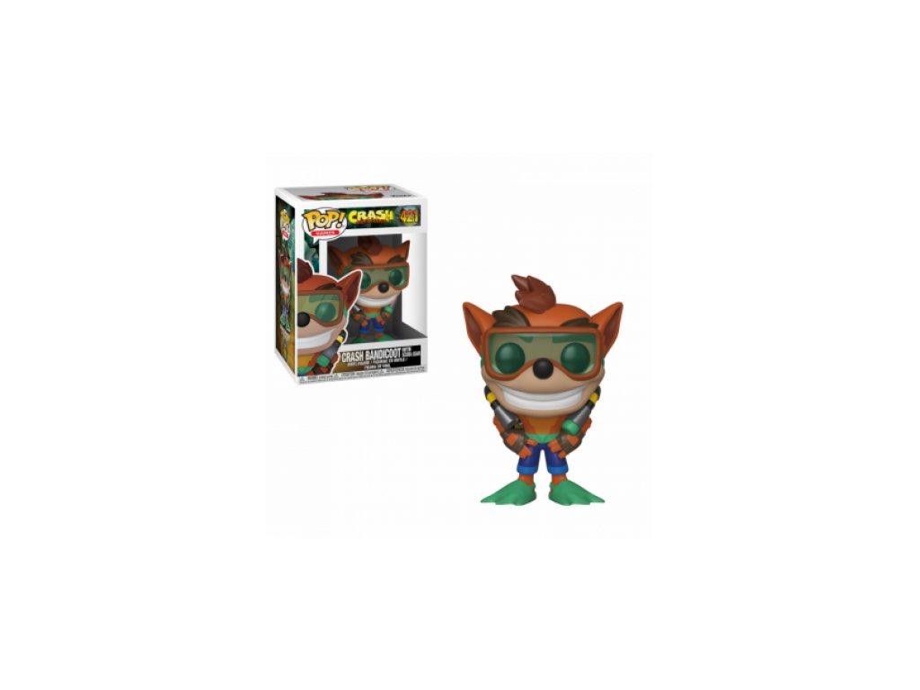 Crash Bandicoot Funko figurka - Crash v potápěčském