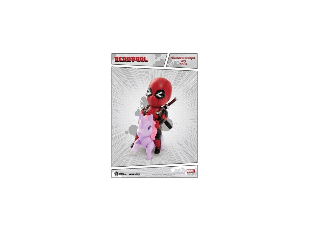 Deadpool Egg-Attack figurka - Pony