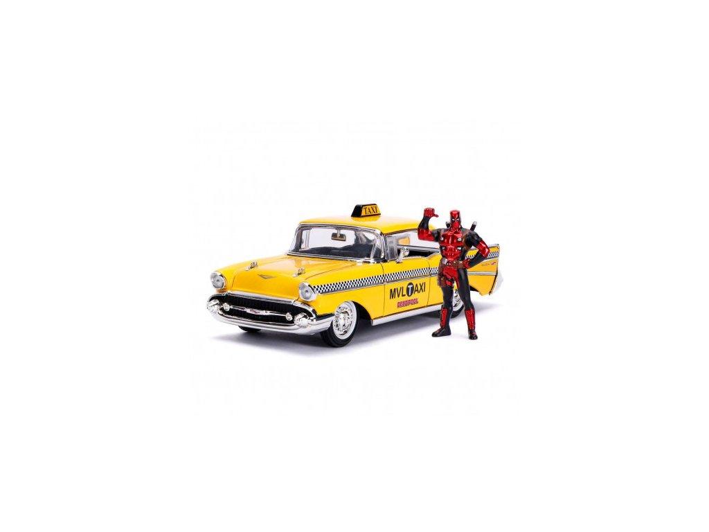 Deadpool model - Yellow Taxi