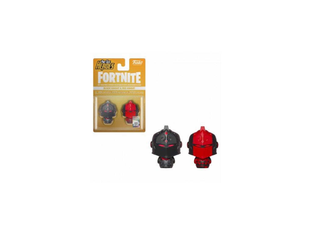 Fortnite Funko Pint-sized figurky - Black Knight a Red knight