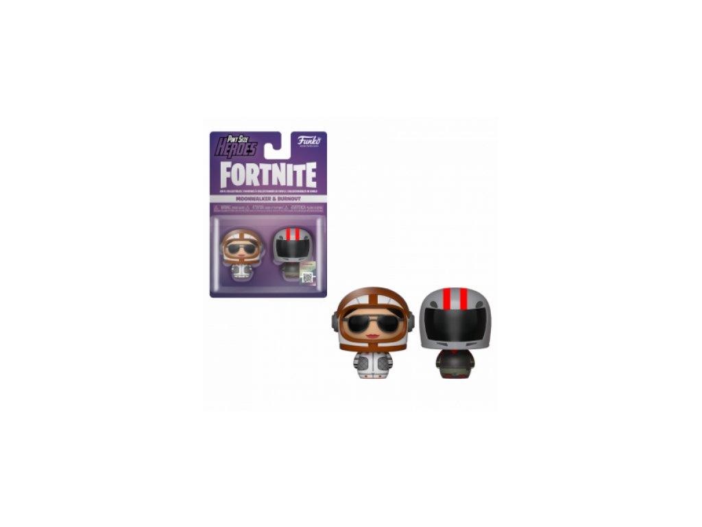 Fortnite Funko Pint-sized figurky - Moonwalker a Burnout
