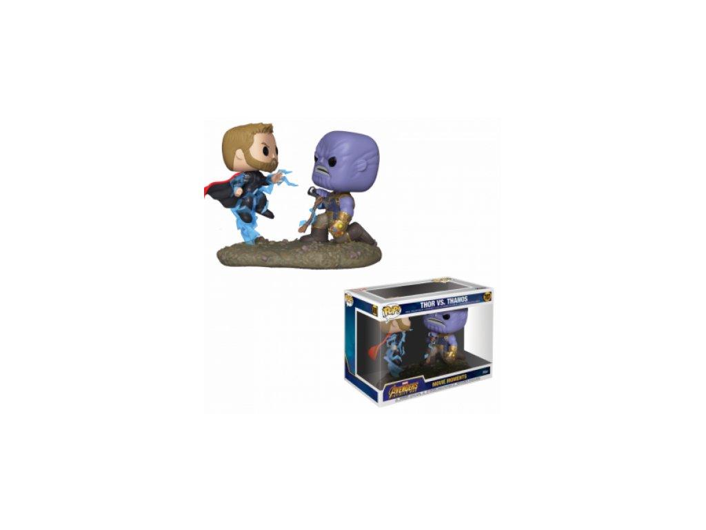 Avengers Funko Movie Moments figurka - Thanos a Thor