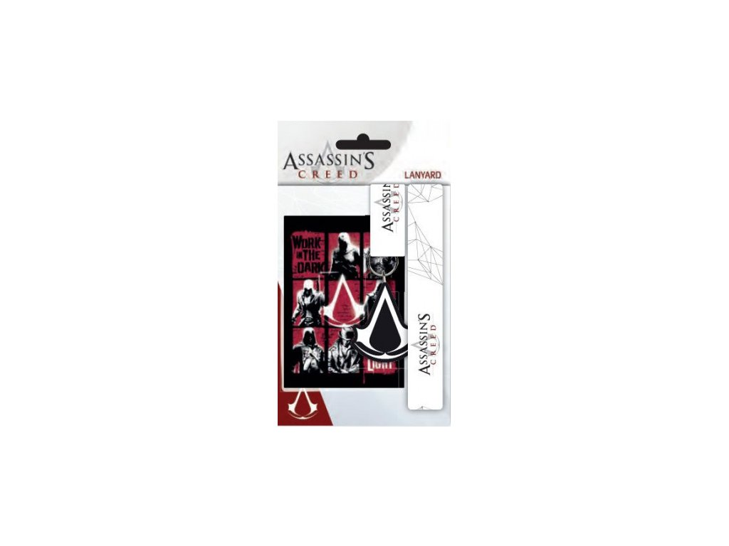 Assassins's Creed - klíčenka - Logo Lanyard