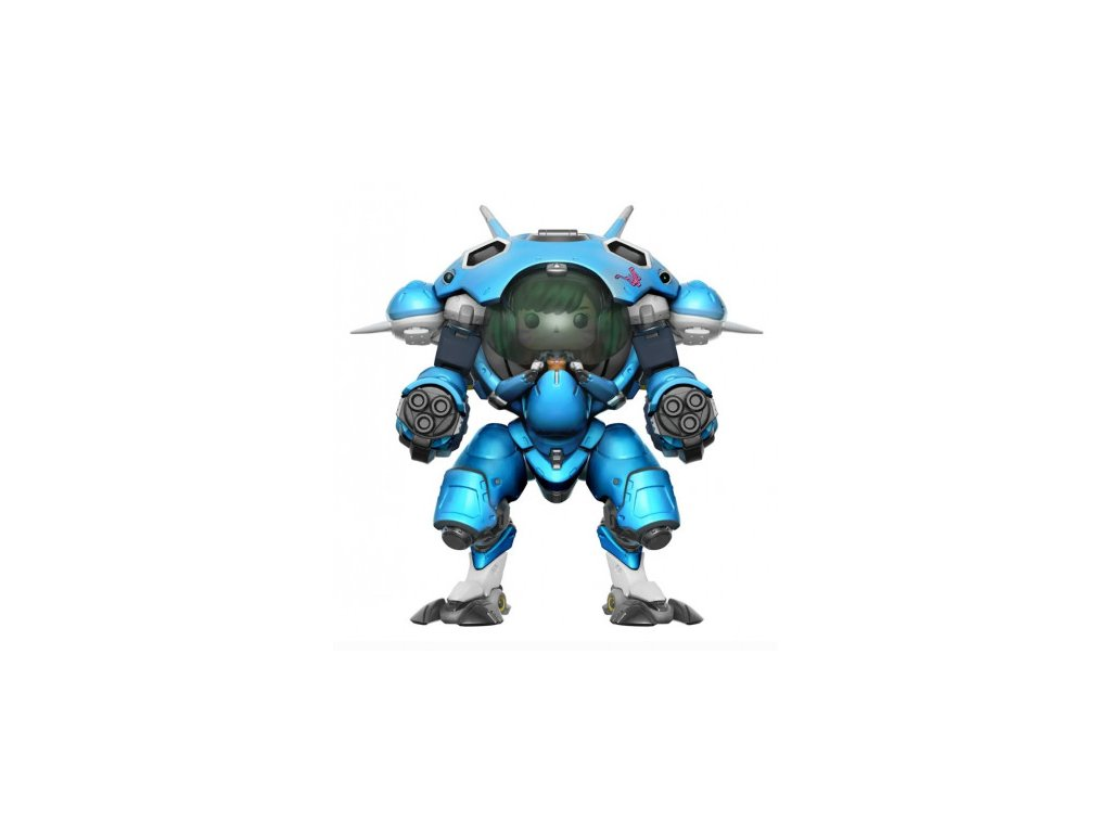 Overwatch Funko figurka - Blueberry D.Va a mech - XXL