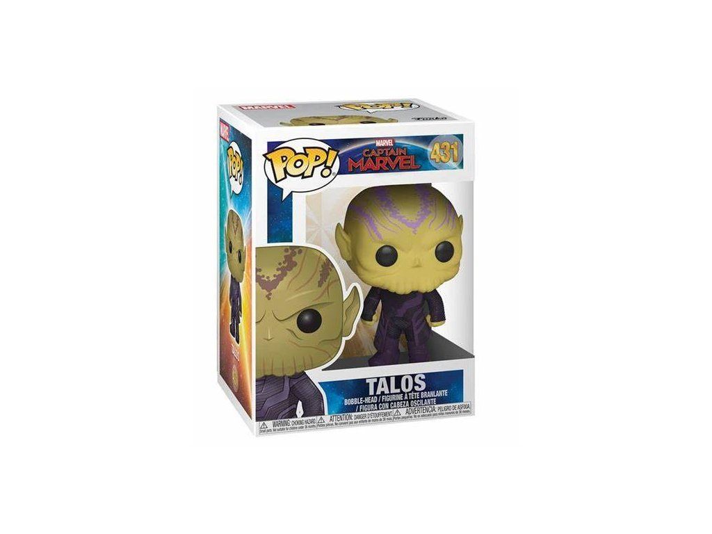 Captain Marvel Funko figurka - Talos - bobble-head