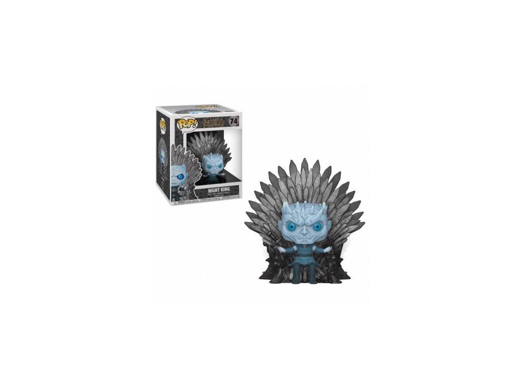 Game of Thrones Funko figurka - Night King Sitting on Throne