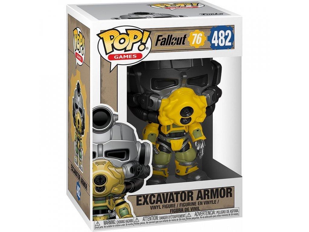 Fallout Funko figurka - Excavator Power Armor