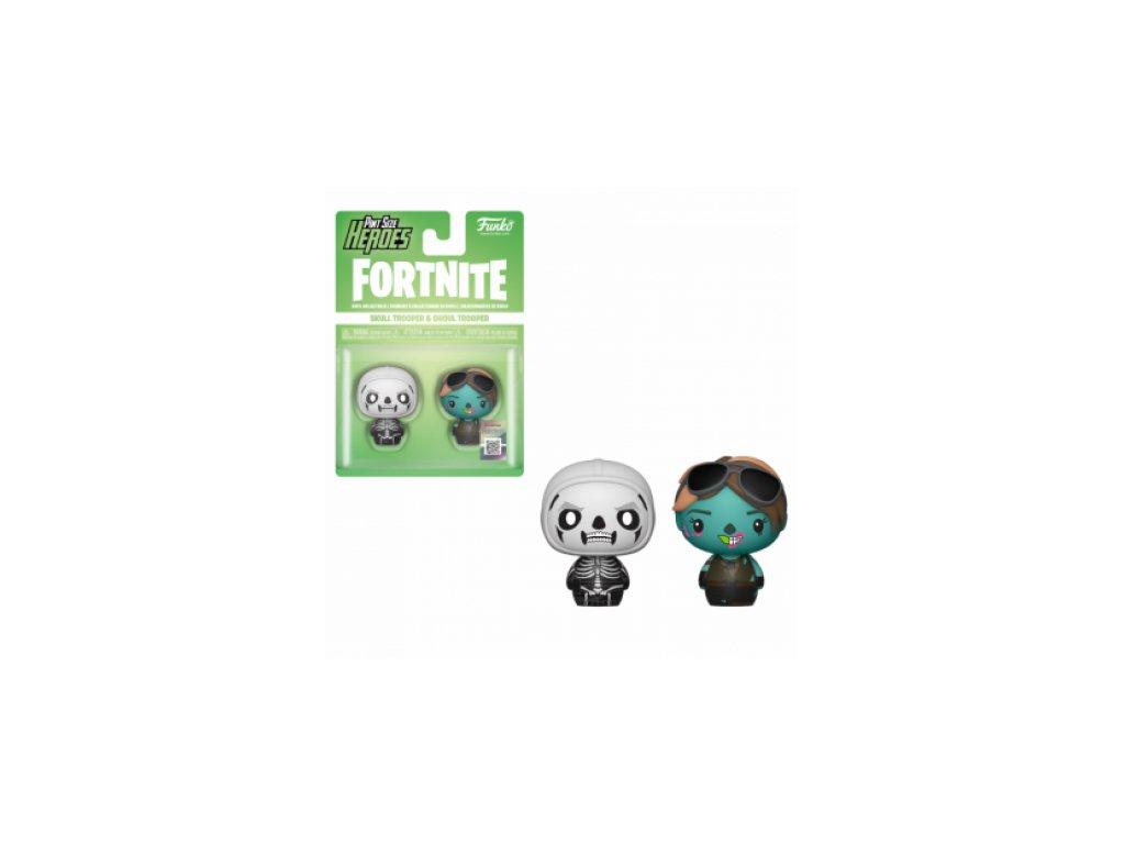 Fortnite Funko Pint-sized figurky - Skull Trooper a Ghoul Trooper