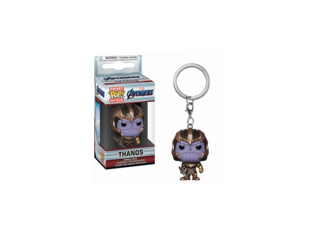 Avengers Endgame Funko klíčenka - Thanos