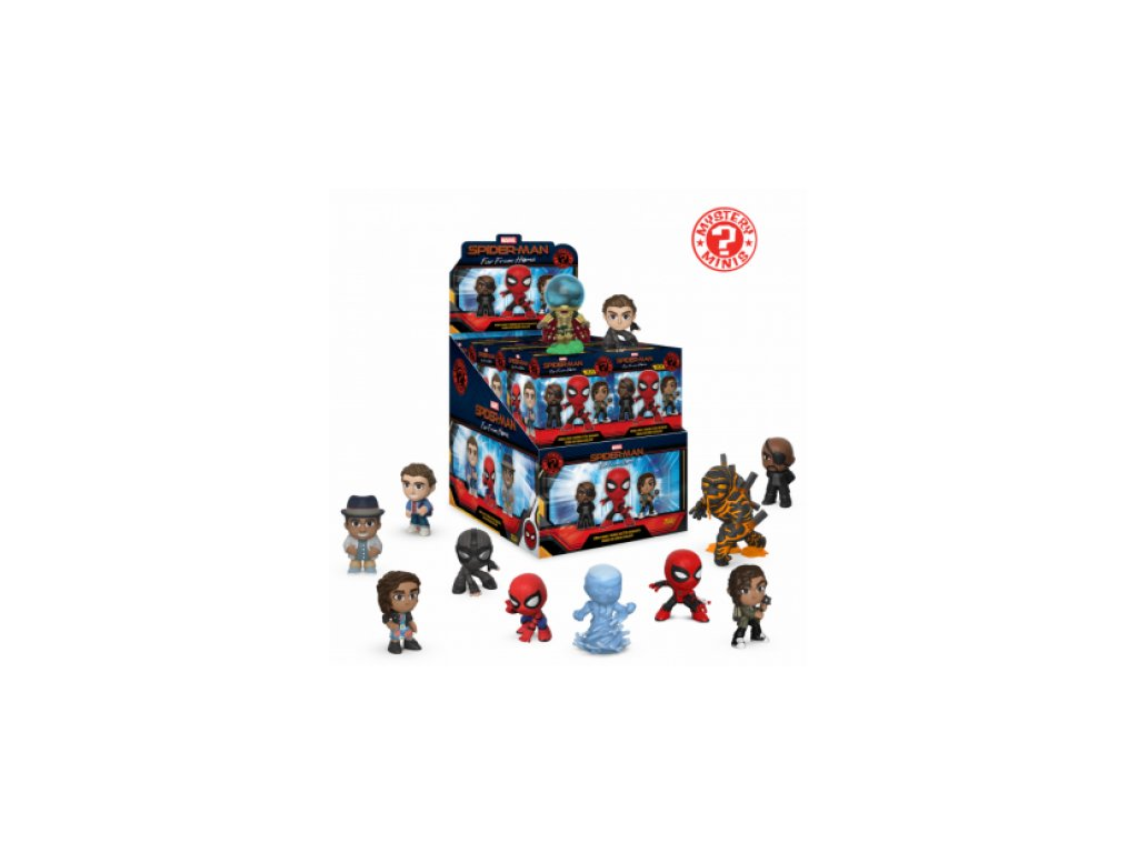 Spider-Man (Far From Home) sběratelská figurka - Mystery Mini