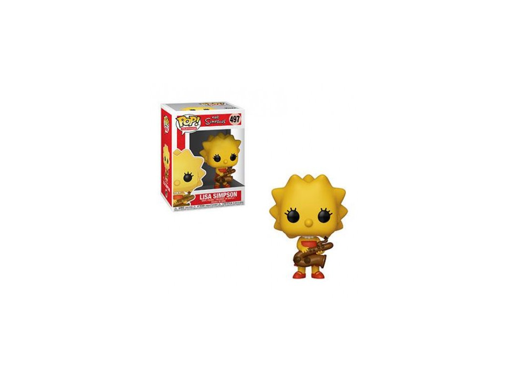 Simpsonovi Funko figurka - Lisa with Saxophone
