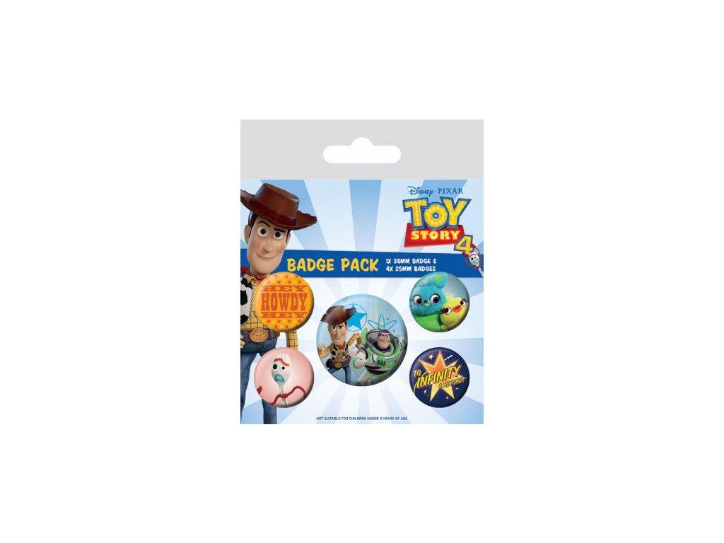 Příběh hraček (Toy Story) odznáčky - Friends for Life