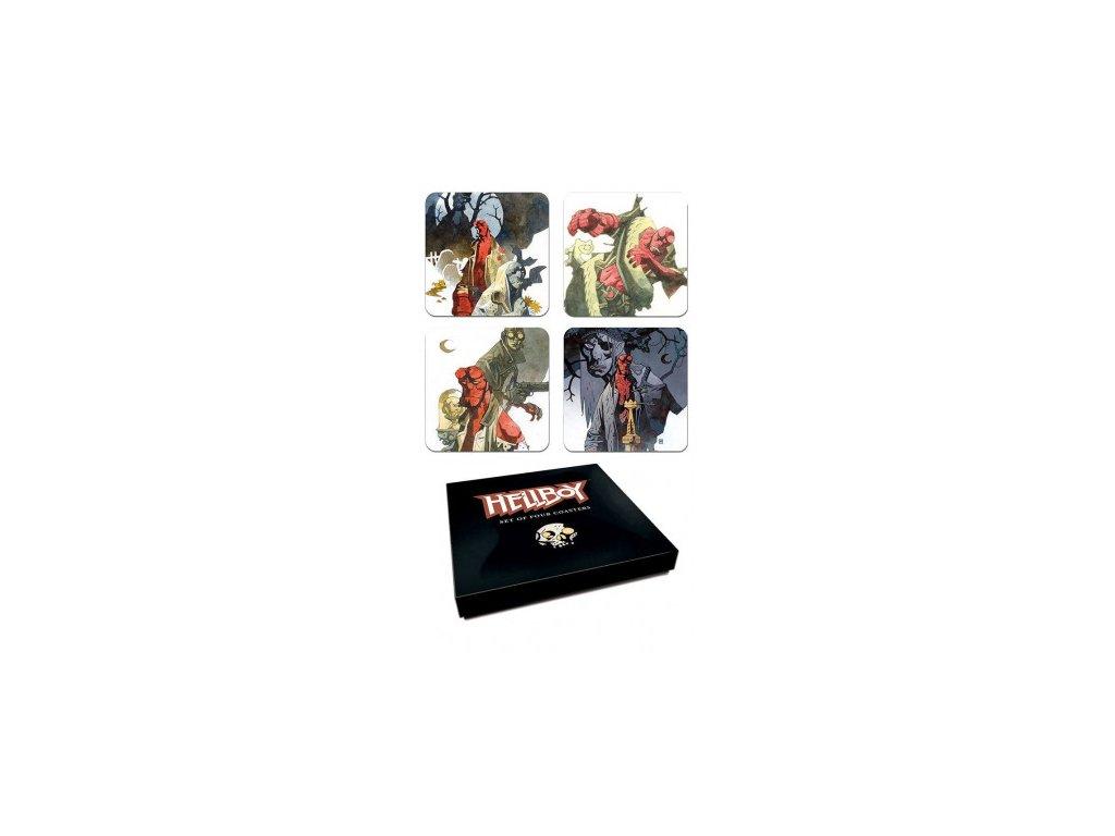 Hellboy podtácky - Mignolas