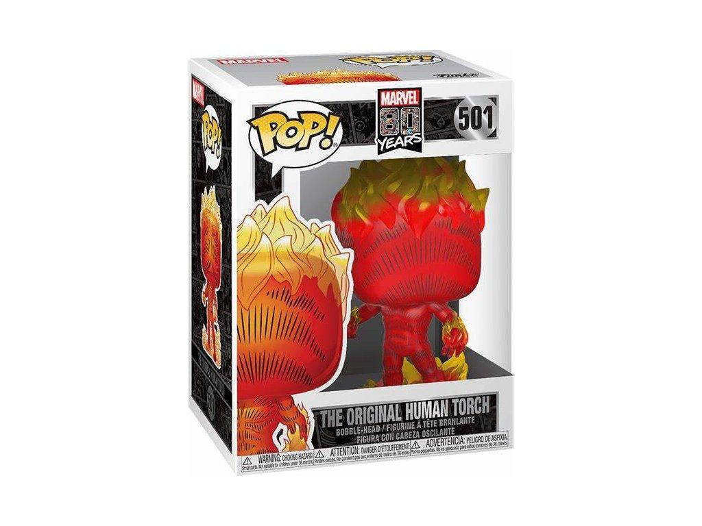 Marvel Funko figurka - First Appearance Human Torch