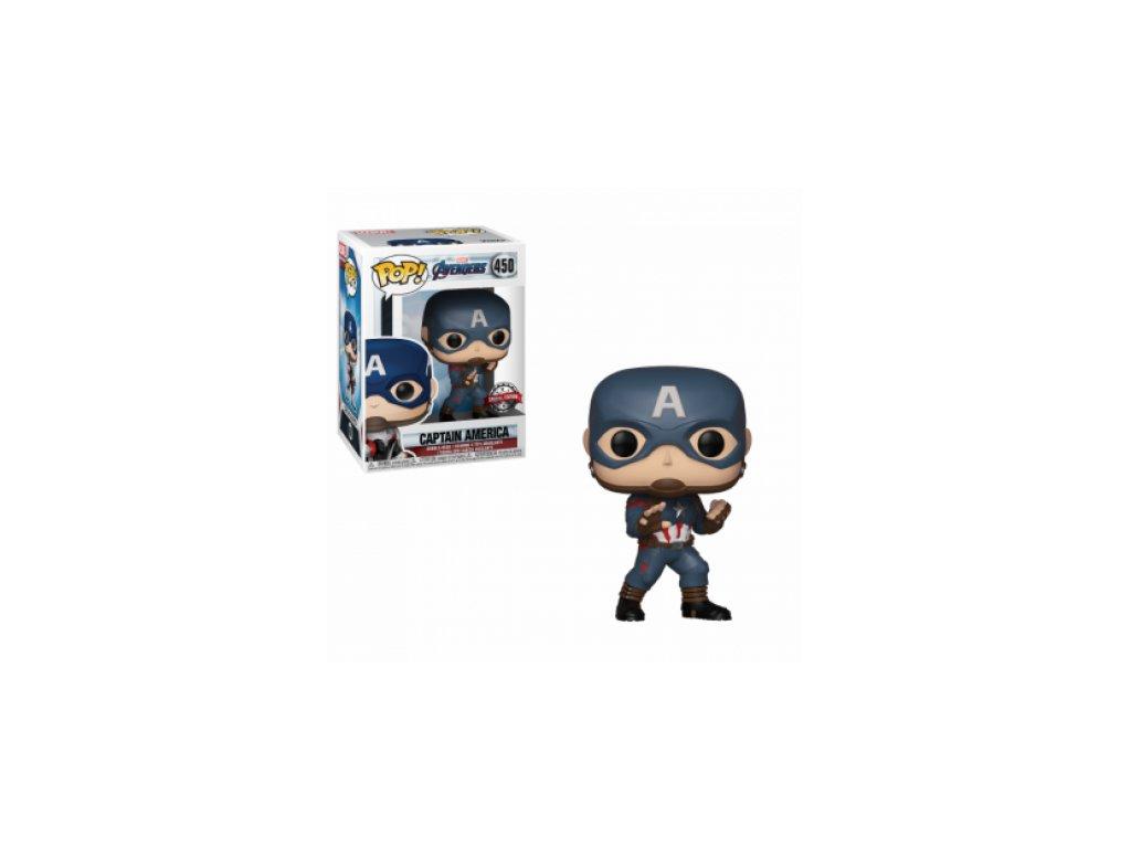 Avengers Funko figurka - Captain America - bobble-head special edition