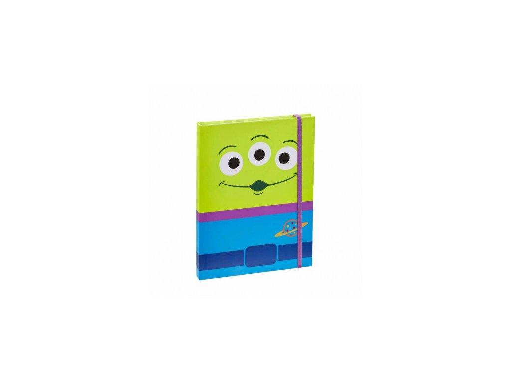 Toy Story (Příběh hraček) zápisník - Aliens