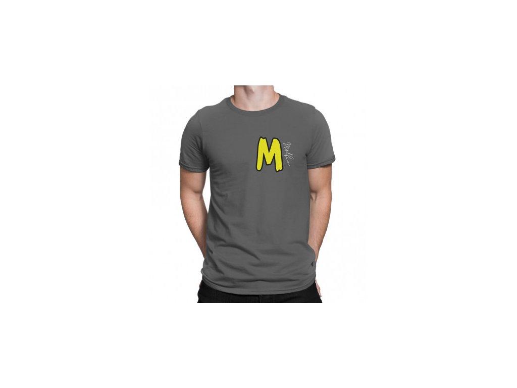 Malfix tričko - šedá