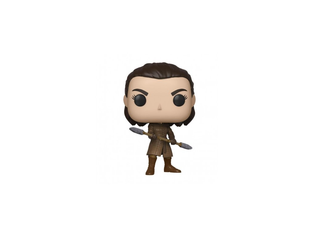 Game of Thrones Funko figurka - Arya with Two Headed Spear