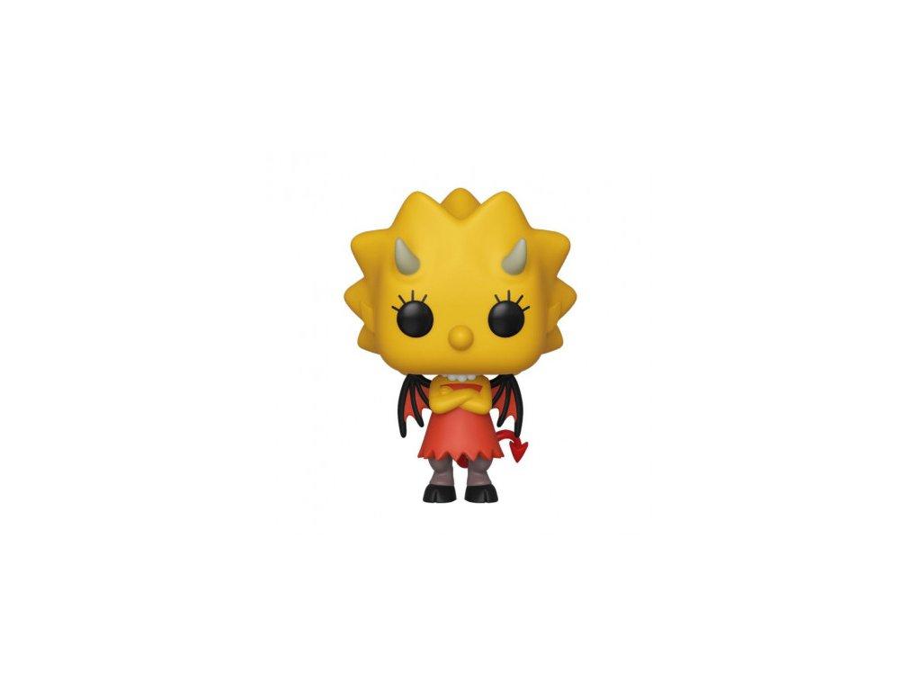 Simpsons Funko figurka - Demon Lisa