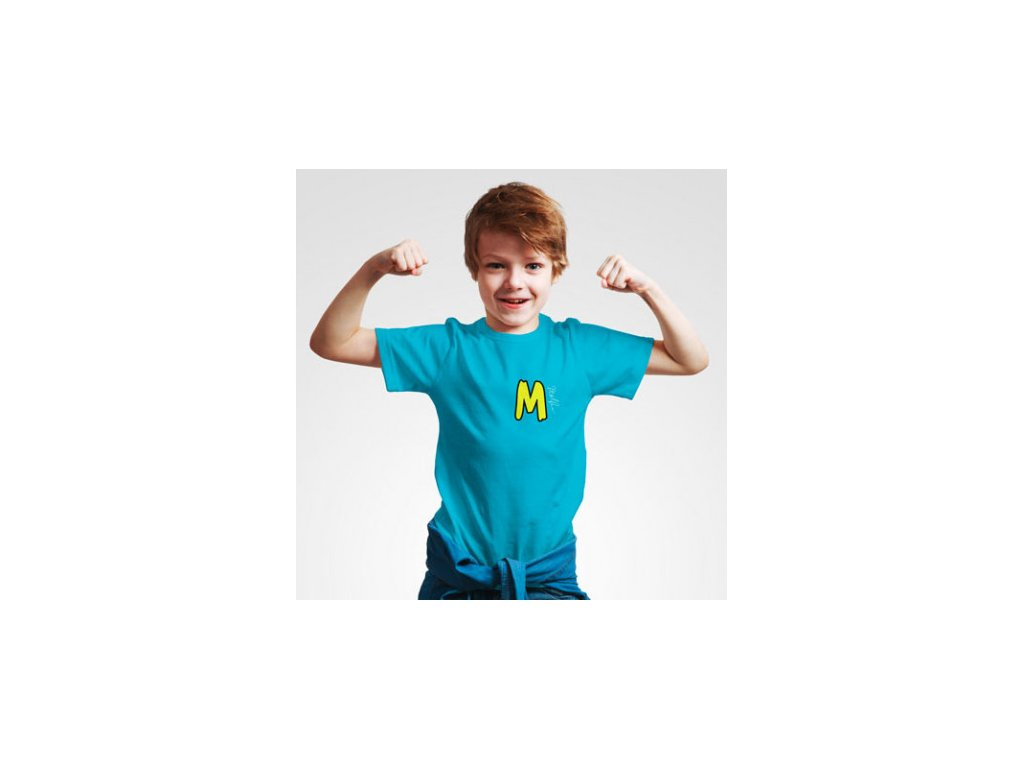 Malfix tričko dětské - modrá