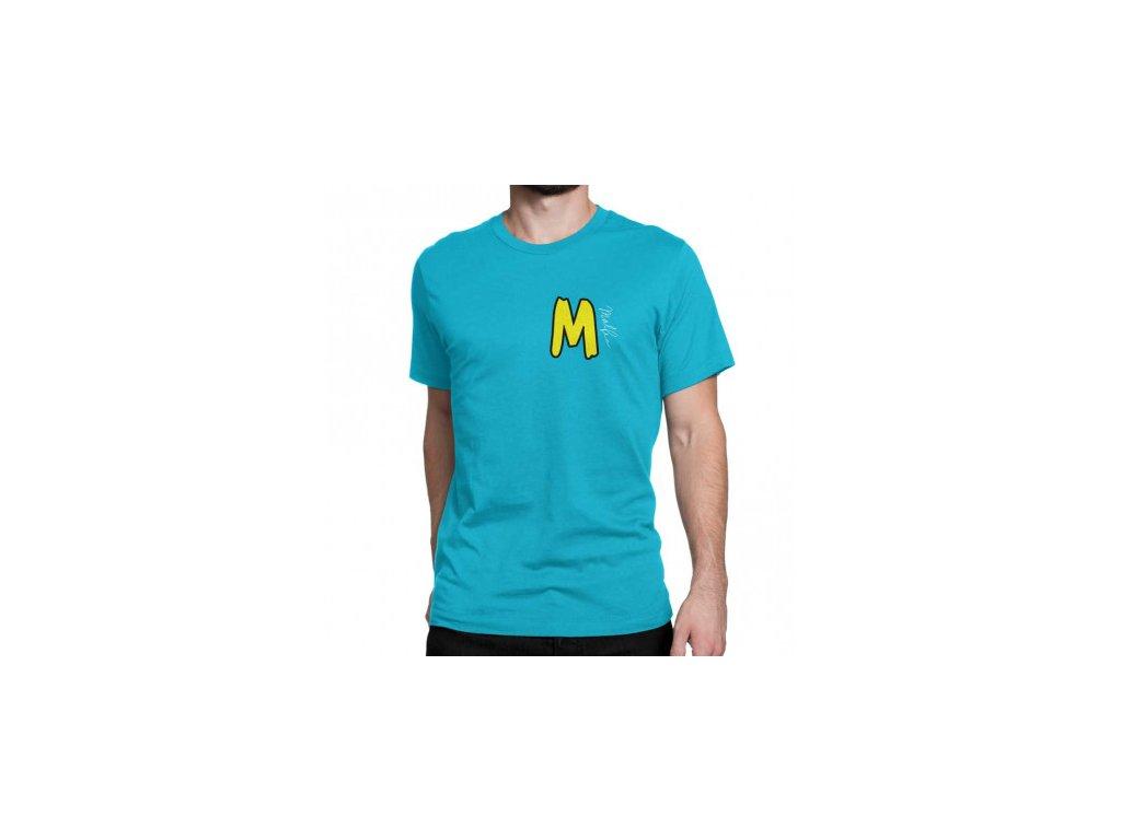 Malfix tričko - modrá
