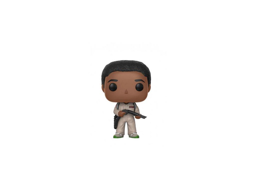 Stranger Things Funko figurka - Lucas Ghostbuster
