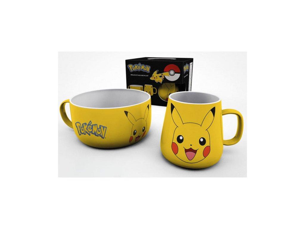 Pokemon snídaňová sada - Pikachu