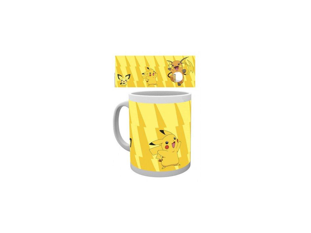 Pokémon hrnek - Pikachu Evolve