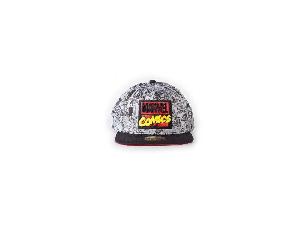Marvel Snapback - Cap AOP
