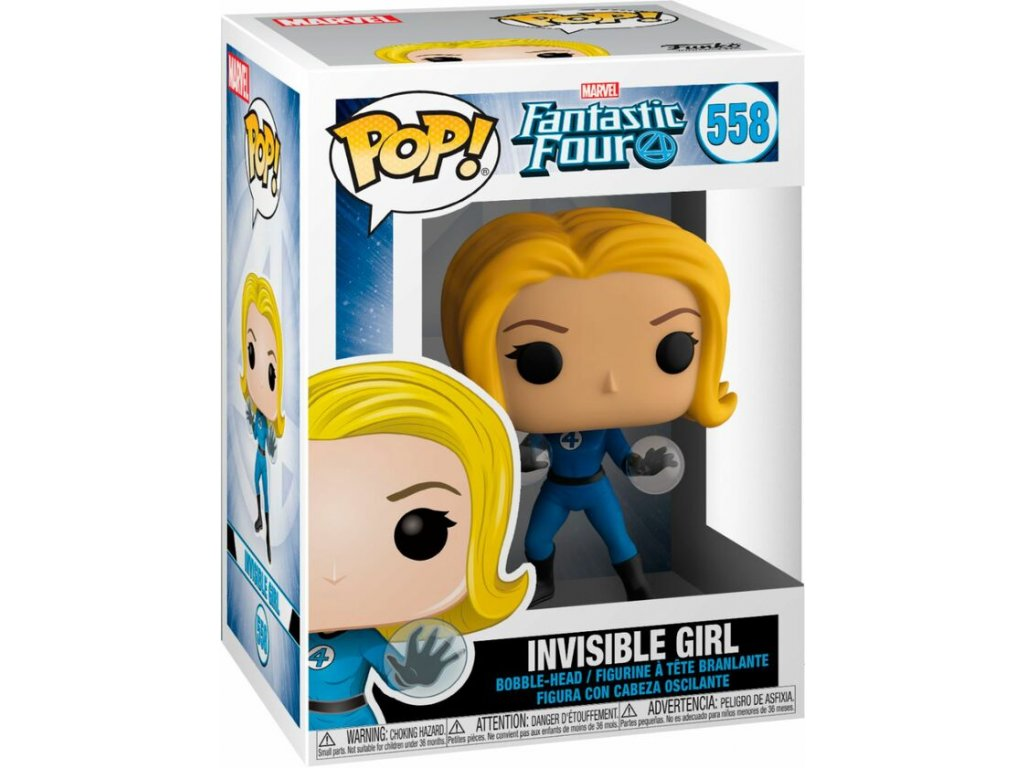 Fantastic Four Funko figurka - Invisible Girl