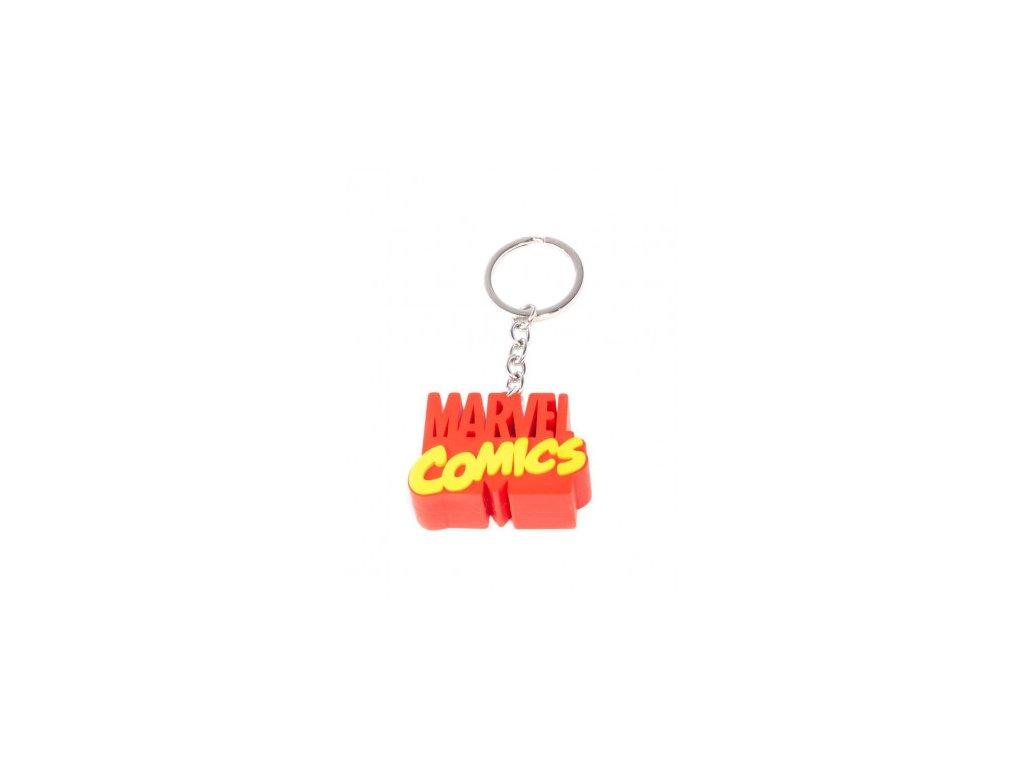 Marvel klíčenka - 3D Logo